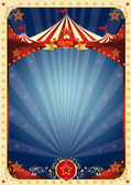 Poster fun circus — Stock Vector