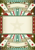 Tricolor background with frame — Stock Vector