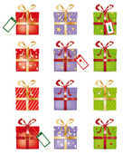Gifts set — Stock Vector