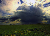 Storm cloud — Stockfoto