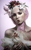 Pinky portrait — Stock Photo