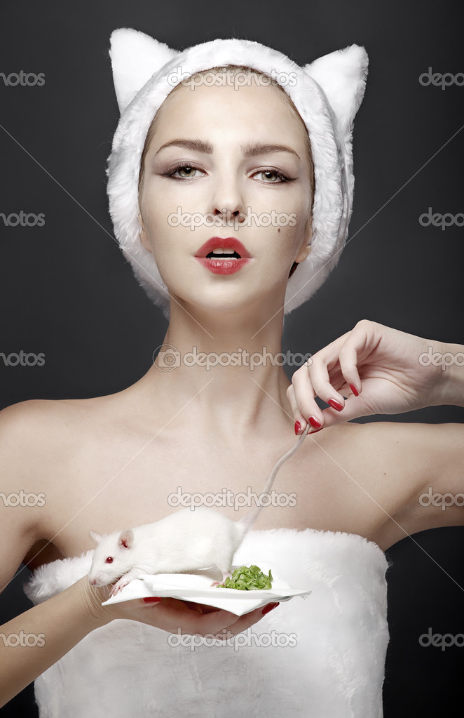 Model creative studio — Stock Photo #7761372