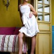 Housemaid, lady's maid — Stock Photo #7801654