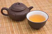 Tea.Traditional Chinese ceramics — Stock Photo