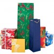 Stock Photo: Group of christmas gifts