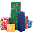 Group of christmas gifts — Stock Photo