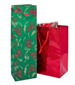 Christmas gift bags — Stock Photo