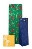 圣诞礼品袋和框 — 图库照片