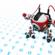 Web Crawler, Indexer Web Spider, Internet Bot, or Scutter — Stock Photo