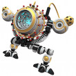 Stock Photo: Malware concept robot poised and ready to devour