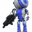 Robot Exterminator — Stock Photo
