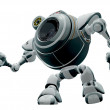 Robot Web Cam Looking Up - Foto Stock
