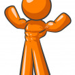 Stock Photo: Orange MBody Builder