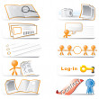 Community Icon Set — Stock Photo #7538647