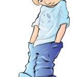 Depressed Boy — Stock Photo