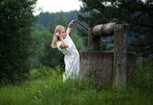 In a fairy tale — Stock Photo