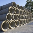 Stacks of Sewer Pipes — Stock Photo #7546825