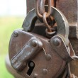 An old-style padlock — Stock Photo