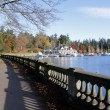 Entrance to Stanley Park - Stock Photo
