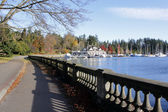 Entrance to Stanley Park — Stock Photo