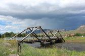 Kırsal köprüsü — Stok fotoğraf