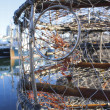 Stock Photo: Close Up of Crab Trap