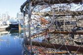 Close Up of Crab Trap — Stock Photo