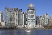 Apartment Towers in Downtown Vancouver — Stock Photo