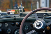 Antique carinterior — Stock Photo