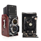 Historic camera's — Stock Photo