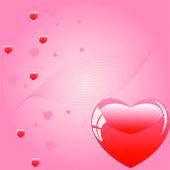 Sevgi kalpleri — Stok Vektör