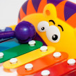 Toy child's xylophone — Stock Photo