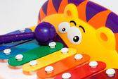 Toy child's xylophone — Stockfoto