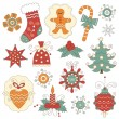 Christmas elements — Stock Vector #7594735