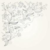 Flourish illustration — Stock Vector