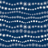 Seamless Christmas pattern — Vector de stock