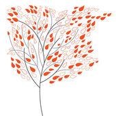 Dekorativní strom — Stock vektor