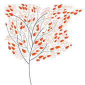 装饰树 — 图库矢量图片