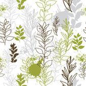 Sem costura padrão floral — Vetor de Stock