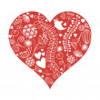 Valentine card — Stockvector #7728520