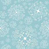 Christmas and New Year's seamless pattern — Stock Vector