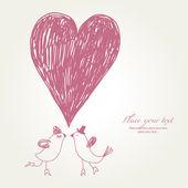 Иллюстрация Дня святого Валентина — Cтоковый вектор