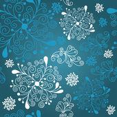 Vinter mönster — Stockvektor