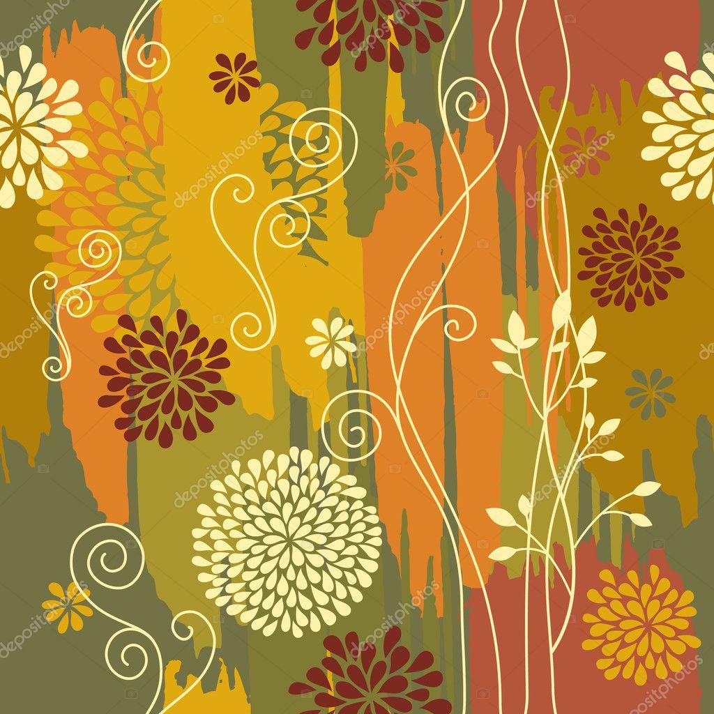 Background image 7945 - Autumn Background Stock Illustration