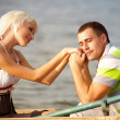 Portrait of love couple — Stock Photo #7558103
