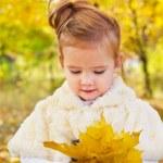 Portrait of little girl — Stock Photo #7852755