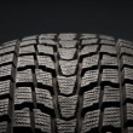 Closeup detail of winter tire tread — Stock Photo #7903860