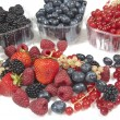 Mix of fruits and berries — Stock Photo