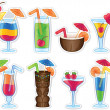 Royalty-Free Stock Vector Image: Tropical Drinks
