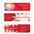 Chritmas banners — Stock Vector
